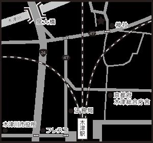 事務所周辺地図